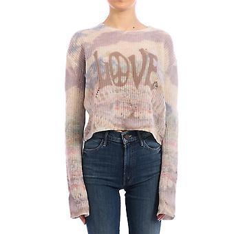 Amiri Y0w05307ccmul Women's Multicolor Cashmere Sweater