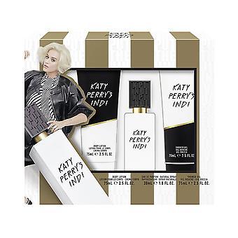 Katy Perry Katy Perry's Indi Gift Set 30ml EDP + 75ml Shower Gel + 75ml Body Lotion