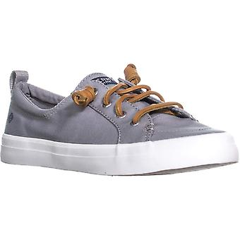 Sperry Womens Crest Vibe Canvas Low Top Lace Up Fashion Sneakers
