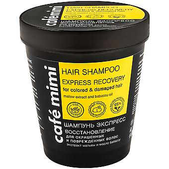 Cafe Mimi Express Recovery Shampoo for Dyed and Damaged Hair 220 ml
