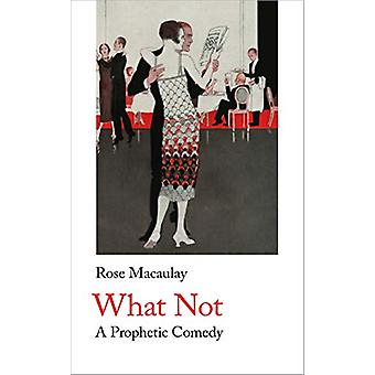 What Not by Rose Macaulay - 9781912766031 Book