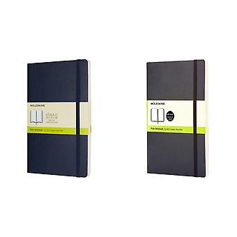 Moleskine Classic L Soft Cover Plain Notebook