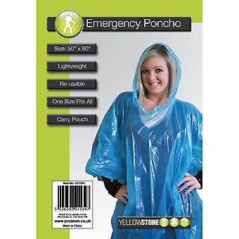 Yellowstone Unisex Adult Emergency Poncho