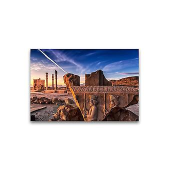 Persepolis Portrait Poster -Image by Shutterstock