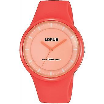 Lorus RRX35FX-9 Niño's Reloj de pulsera de la correa de silicona naranja