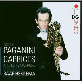 N. Paganin - Paganini: Caprices Arr. for Saxophone [CD] USA import