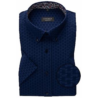 Eterna Mode Eterna Seersucker Short Sleeve Shirt