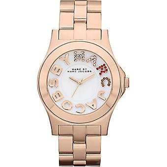 Marc By Marc Jacobs Rose Gold Ladies Watch 'Rivera' MBM3138 - Classy
