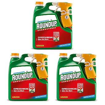 Sparset: 3 x ROUNDUP® AC, 3 litres