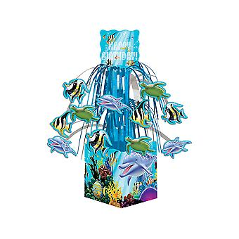 Ocean Party Cascade Table Centrepiece - Sealife Party Decorations