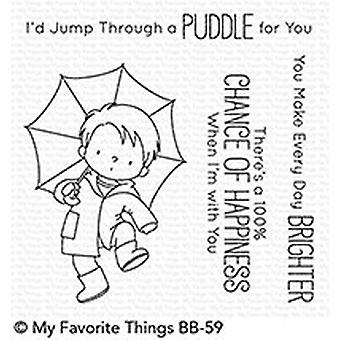 My Favorite Things Clear Stamps - Puddle Jumper Clear Samps