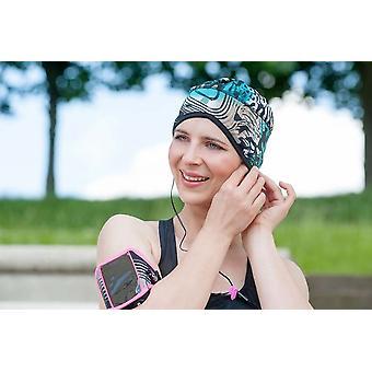 Headwear de quimioterapia esportiva | Verde Elétrico Infinito