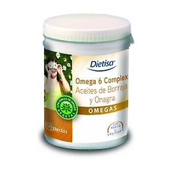 Omega 6 Complex Evening Primrose + Borage (super dieet) 90 softgels