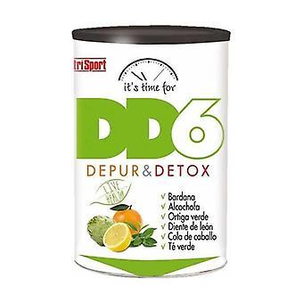 Dd6 Depur en Detox Citrus Smaak 240 g