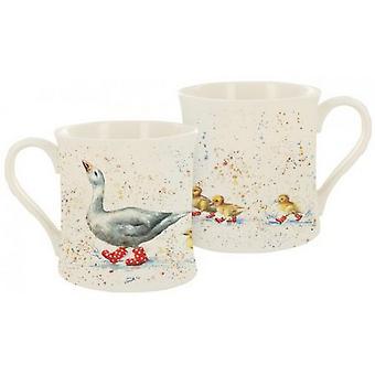 Bree Merryn Duck Wait For Me Cuties in Booties Mug