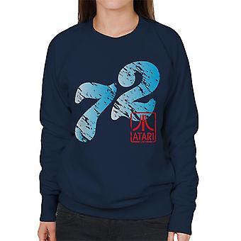 Atari Distressed 72 Women's Sweatshirt