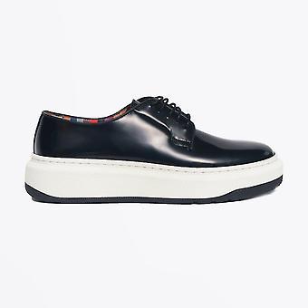 Paul Smith  - Patent Leather 'Sade' Creeper Shoe - Black