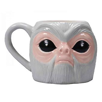 Fantastic Beasts Shaped Mug Demiguise new Official Grey Boxed