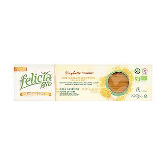 Spaguetti de harina de lentejas Bio 250 g