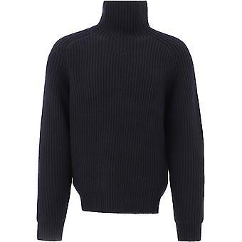 Acne Studios B60146black Men's Black Wool Sweater