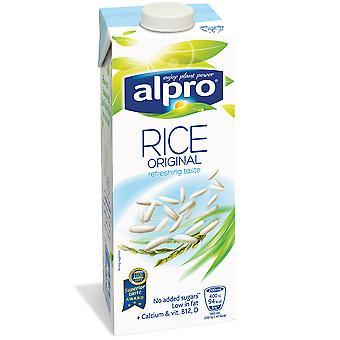 Alpro Rice Drink Milk Alternative Cartons