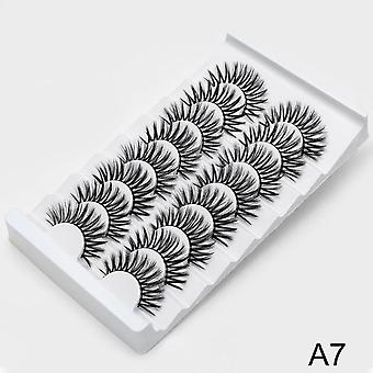 3d Mink Lashes Natural False Eyelashes - Dramatic Volume Fake Lashes Makeup Eyelash Extension