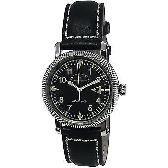 Zeno-Watch - Wristwatch - Men - Nostalgia Pilot Piccolo A – manual - 4783A-a1-1