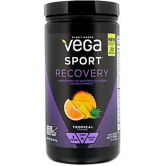 Vega, Sport, Recovery, Tropical, 19 oz (540 g)
