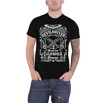 DevilDriver T Shirt Sawed Off Band Logo new Official Mens Black