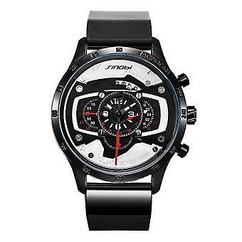 Atmosferisch mannen's quartz horloge