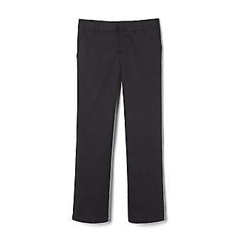 French Toast Girls Adjustable Waist Pant, Black, 12.5 ,Plus Girls