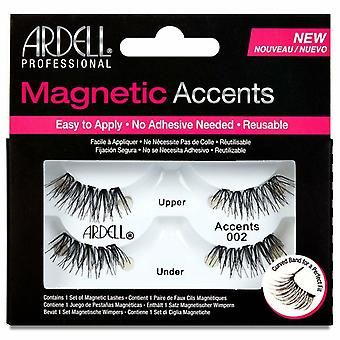 Ardell Reusable Magnetic Lashes - Accents 002 - Use with Magnetic Gel Liner