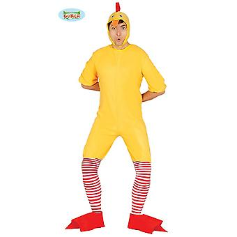 Costume di pulcino per adulto unisex animale costume Carnevale