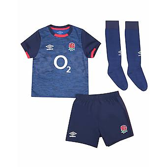 Umbro England RFU Rugby Alternativ Junior Mini Kit | Blå | 2020/21