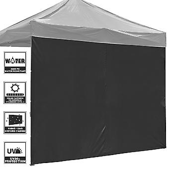 InstaHibit Universal Privacy Sidewall UV30+ Fits 10x10ft Canopy 1 Piece Gazebo