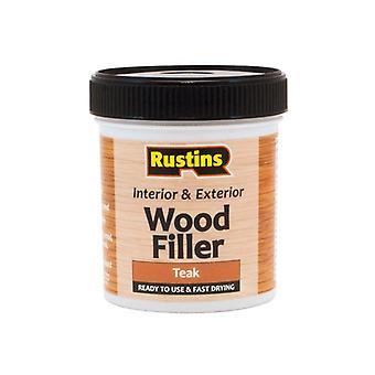 Rustins Acrylic Wood Filler Teak 250ml AWOOT250