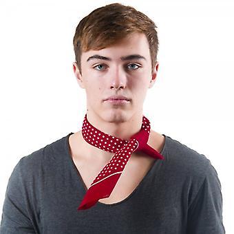 Krawatten Planet Kirsche rot & weiß Polka Dot Bandana Neckerchief