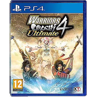 Warriors Orochi 4 Ultimate PS4 Jeu