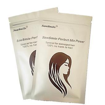 Collagen Silk Natural Long Hair Scalp Serum Care Lengthen Growth Vitamins Treatment Perfect Mix Powder