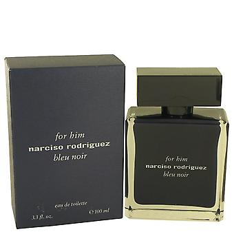 Narciso Rodriguez Bleu Noir Eau De Toilette Spray door Narciso Rodriguez 3.4 oz Eau De Toilette Spray
