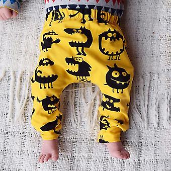 Newborn Baby / Monster Bottom Harem Pants, Leggings Trousers Cotton