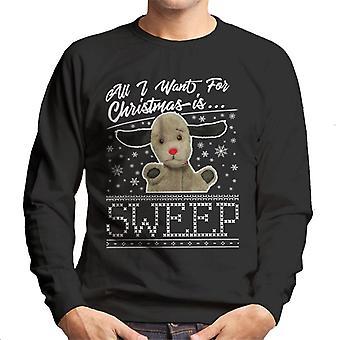 Noki joulu Kaikki mitä haluan jouluksi on Sweep Men's Collegepaita