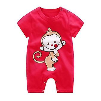 Summer Boys And Girls Fashion Ha Cloth Newborn Baby Climbing Romper Animal Costumes Pajamas