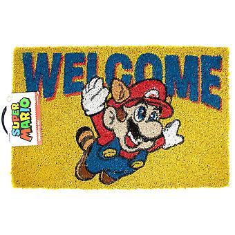 Super Mario Tervetuloa Ovimatto Monivärinen 60_x_40_cm