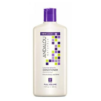 Andalou Naturals Full Volume Conditioner, Lavender and Biotin 11.5 oz