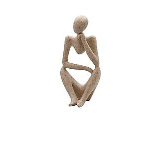 European Style Abstract Thinker Statue Sculpture Figurine