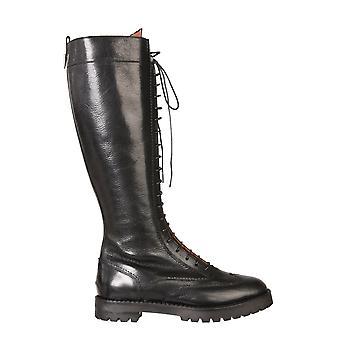 L'autre Chose Ldm02024661001 Women's Black Leather Boots