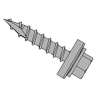 Forgefix TechFast metalli katto puu kuusioruuvi T17 Gash Point 6.3x150mm x50
