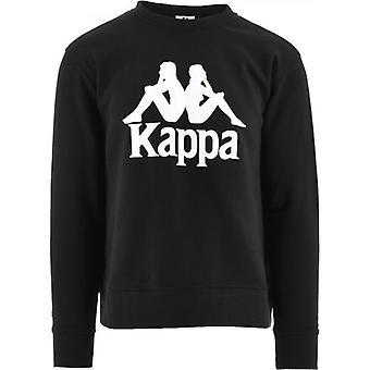 Kappa Black Authentic Telas 2 Sweatshirt