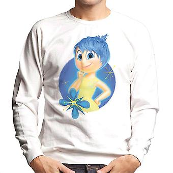 Pixar Inside Out Joy Sparkling Men's Sweatshirt